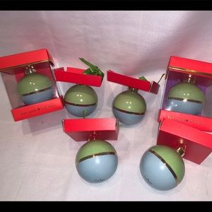 Kate Spade Christmas Ornament Be Merry/Be Bright